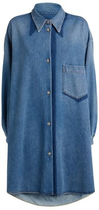 MM6 MAISON MARGIELA Oversized Denim Shirt