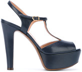 L'Autre Chose iconic t-bar platform sandals - women - Calf Leather/Leather - 37