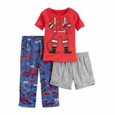 Carter's 3-pc. Shorts Pajama Set Boys