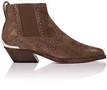 Rag & Bone Women's Westin Studded Suede Ankle Boots - Brown
