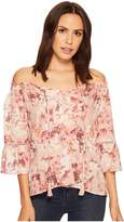 Miss Me Off Shoulder Bell Sleeve Top Women's Clothing