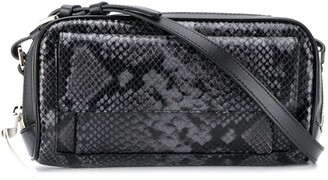 colville Snakeskin Effect Shoulder Bag
