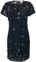 MICHAEL Michael Kors sequin applique lace shift dress