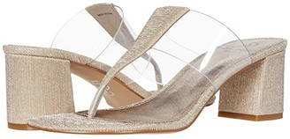 Adrianna Papell Choir (Platino/Clear) Women's Shoes