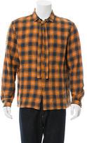 Gucci Plaid Flannel Shirt