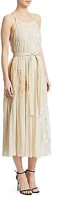 Derek Lam 10 Crosby Women's Pleated Cami Dress
