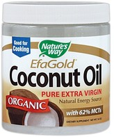 Nature's Way Organic Extra Virgin Coconut Oil by 16oz Oil)