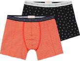 Scotch & Soda 2-Pack Amsterdams Blauw Boxer Shorts