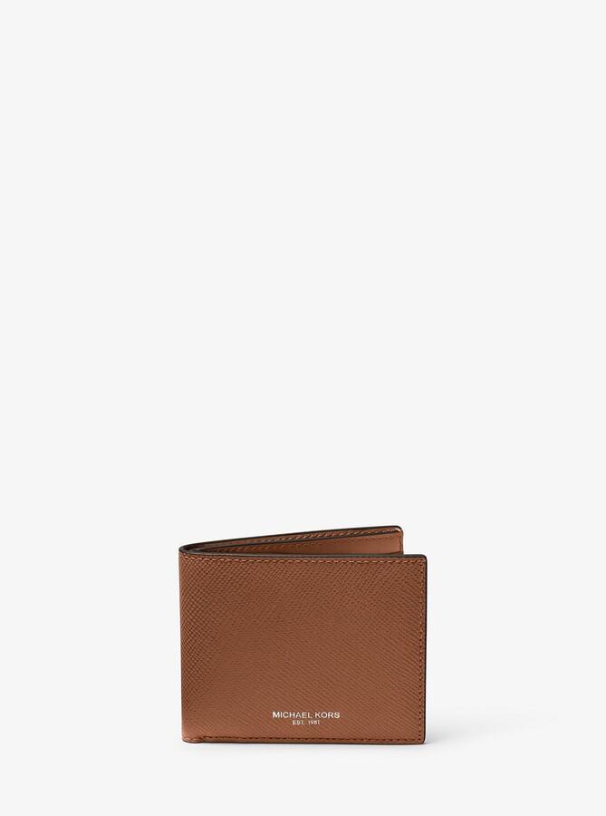 newest 9993f 37e3b Harrison Leather Slim Billfold Wallet