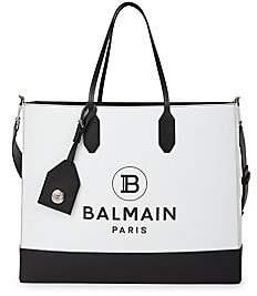 Balmain Women's Medium Leather Shopping Bag