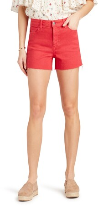 Sam Edelman The Stiletto Raw Hem Cutoff Denim Shorts