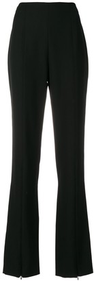 Courreges High-Waisted Flared Trousers