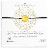 Dogeared Gratitude 14K Gold Dipped Sterling Silver Charm Bracelet