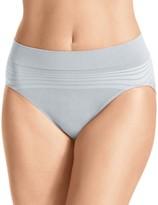 Warner's Warners No Pinching No Problem Seamless Striped Hi-Cut Panty RT5501P
