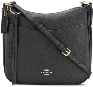 Coach Pebbled Saddle Bag