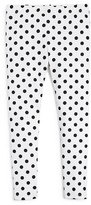 Aqua Girls' Polka Dot Leggings - Sizes 4-6X