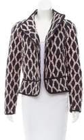Isabel Marant Patterned Open Front Jacket