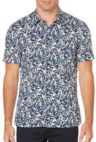 Perry Ellis Printed Cotton Shirt