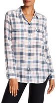 Equipment Silk Plaid Shirt