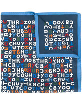 Tory Burch logo scarf