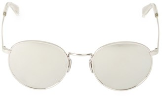 Celine 50MM Round Metal Sunglasses
