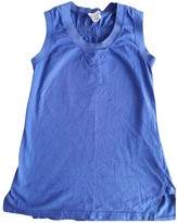 Mauro Grifoni Blue Cotton Top for Women