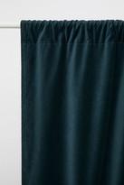 H&M 2-pack Velvet Curtain Panels - Green