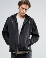 Brixton Claxton Windbreaker Jacket With Hood