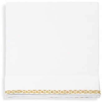 Roberto Cavalli New Gold Cotton Sateen Flat Sheet