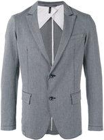 Armani Jeans striped blazer - men - Cotton/Spandex/Elastane - 48
