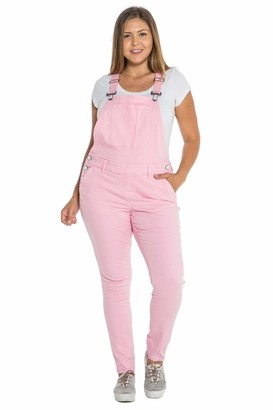 SLINK Jeans The Overall Pants in Soft Pink Size 14