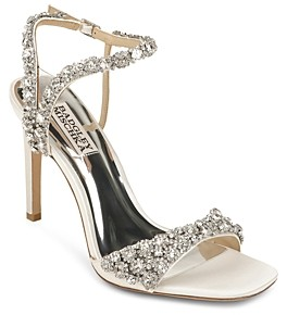 Badgley Mischka Women's Galia Strappy Embellished Sandals