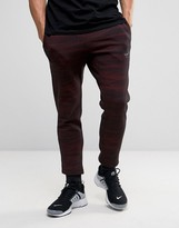 Nike Printed Slim Joggers In Red 807265-013