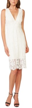 Bardot Allover-Lace Sheath Dress