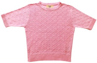 Graciela Huam Emilia Crop Top - Rose
