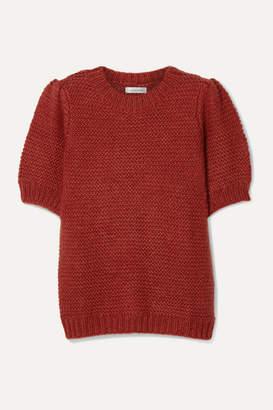 Anine Bing Nicolette Knitted Sweater - Claret