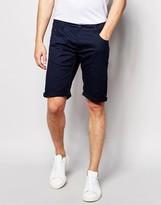 Solid Chino Shorts