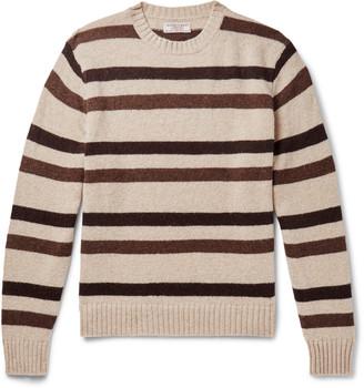 J.Crew Striped Wool Sweater