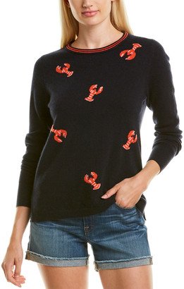 J.Crew Lobster Cashmere T-Shirt