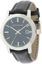 Burberry The City Leather Mens Watch BU9009