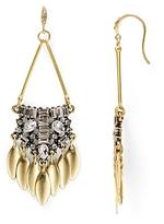 Aqua Callandra Statement Drop Earrings - 100% Exclusive