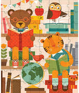 One Kings Lane Story Time Puzzle Tin & Coin Bank - Brown