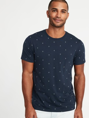Old Navy Soft-Washed Printed Tee for Men
