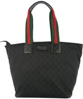 Gucci Pre Owned Shelly Line tote bag