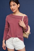 Stateside Off-The-Shoulder Sweatshirt