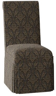 Sloane Whitney Claremont Side Chair Body Fabric: Susan Noir