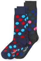 Happy Socks Big Dot Crew Socks