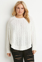 Forever 21 FOREVER 21+ Plus Size Loose Knit Dolman Sweater