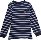 U.S. Polo Assn. Classic Navy Stripe Logo Top - Boys
