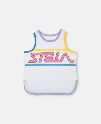 Stella Mccartney Kids Stella McCartney sport tank with logo print